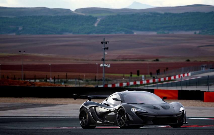 McLaren P1 GTR – production track monster teased Image #304579