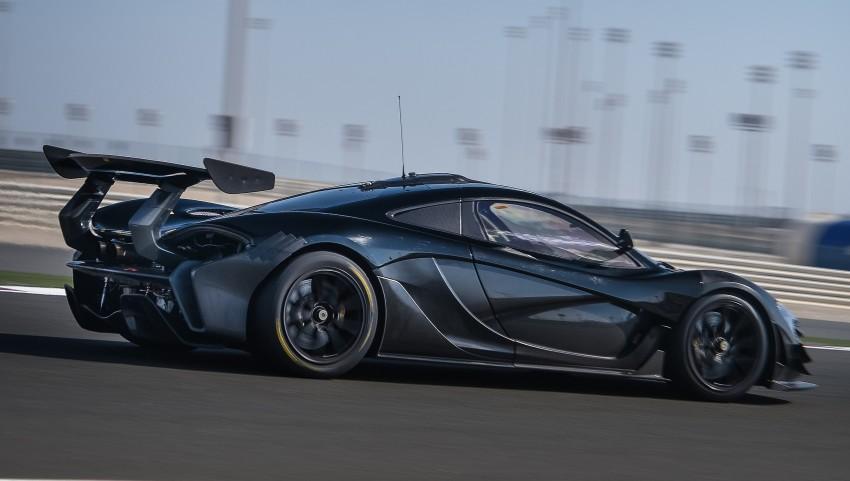 McLaren P1 GTR – production track monster teased Image #304582