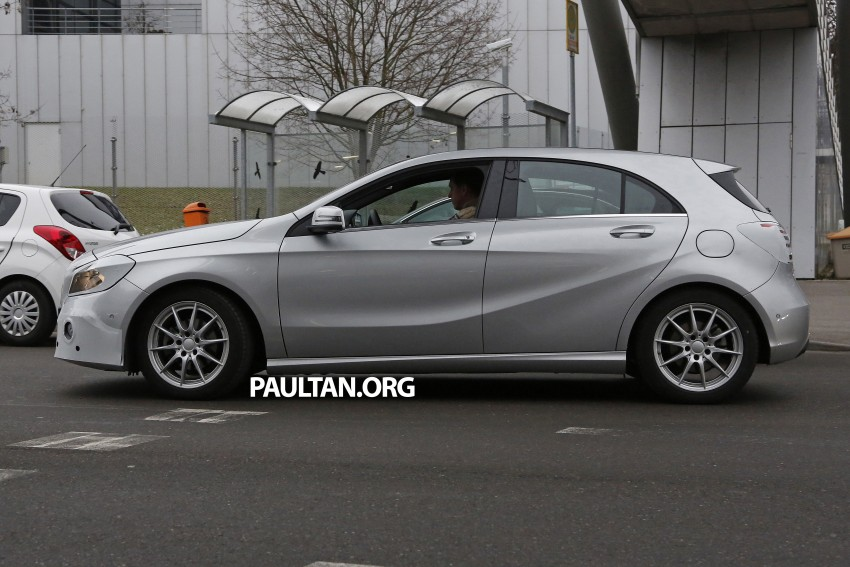 SPYSHOTS: Mercedes-Benz A-Class facelift on test – minimal updates to exterior? Image #306628