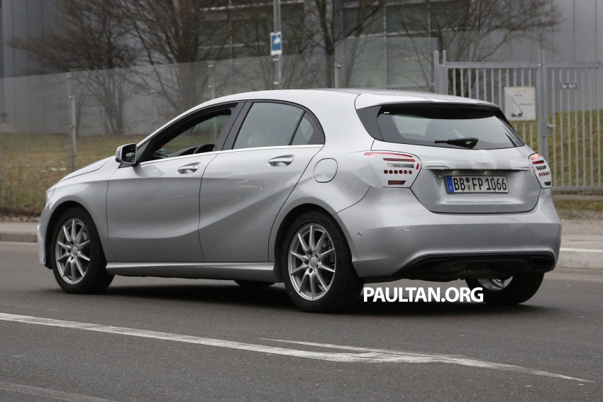 SPYSHOTS: Mercedes-Benz A-Class facelift on test – minimal updates to exterior? Image #306626