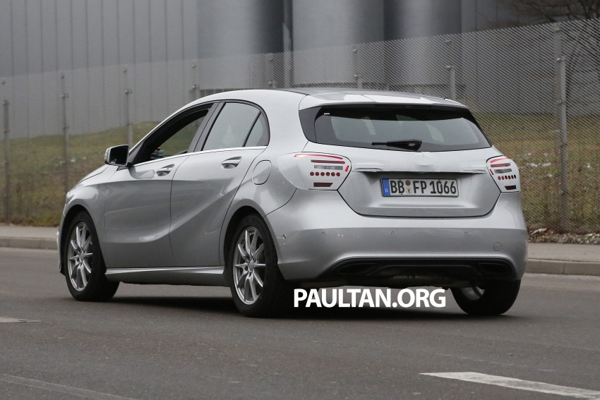 SPYSHOTS: Mercedes-Benz A-Class facelift on test – minimal updates to exterior? Image #306627
