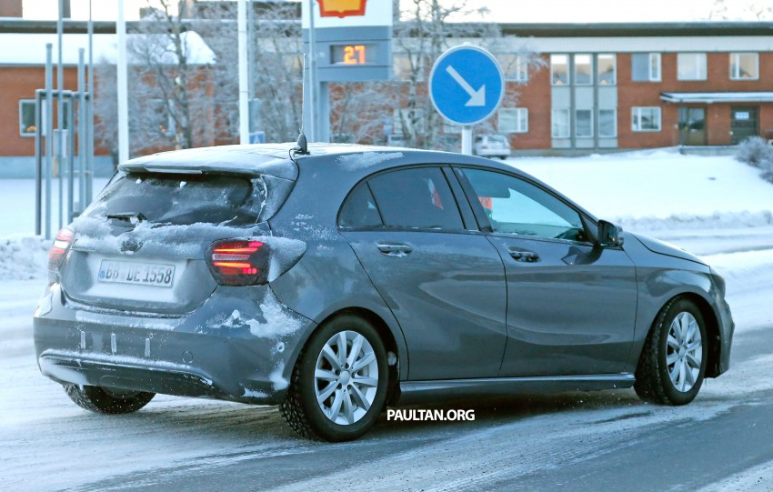SPYSHOTS: Mercedes-Benz A-Class facelift on test – minimal updates to exterior? Image #301697