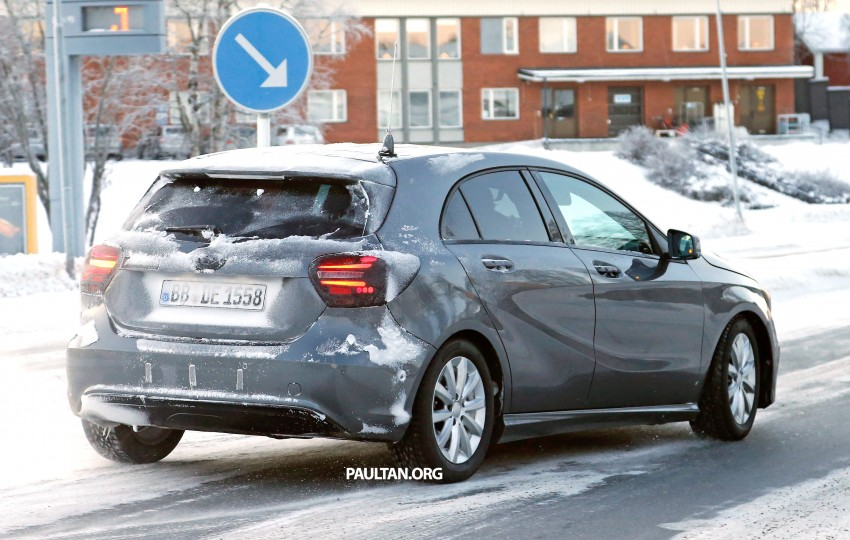 SPYSHOTS: Mercedes-Benz A-Class facelift on test – minimal updates to exterior? Image #301701