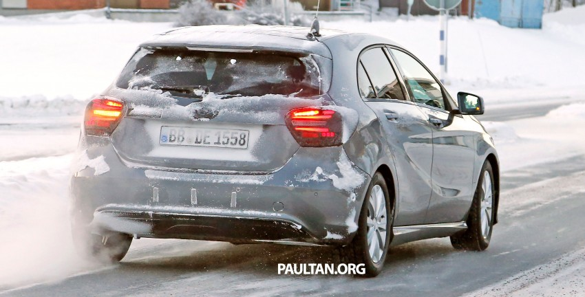 SPYSHOTS: Mercedes-Benz A-Class facelift on test – minimal updates to exterior? Image #301700