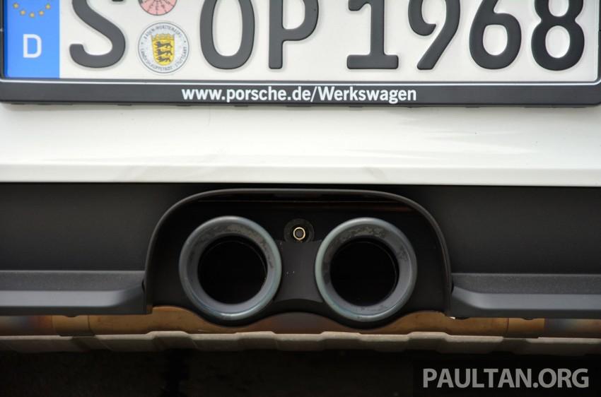 DRIVEN: Porsche 911 GT3 – no manual, no more fun? Image #301169