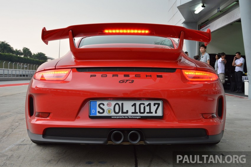 DRIVEN: Porsche 911 GT3 – no manual, no more fun? Image #301181