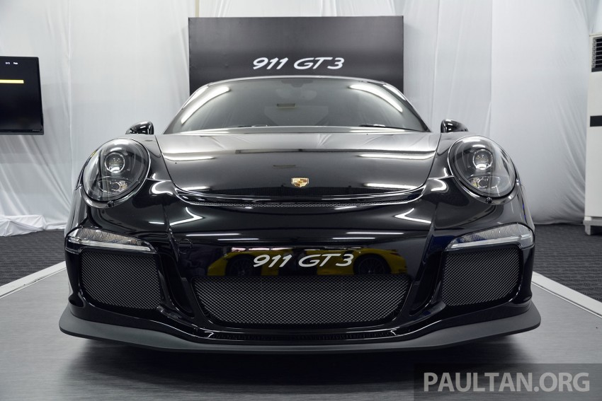 DRIVEN: Porsche 911 GT3 – no manual, no more fun? Image #301191