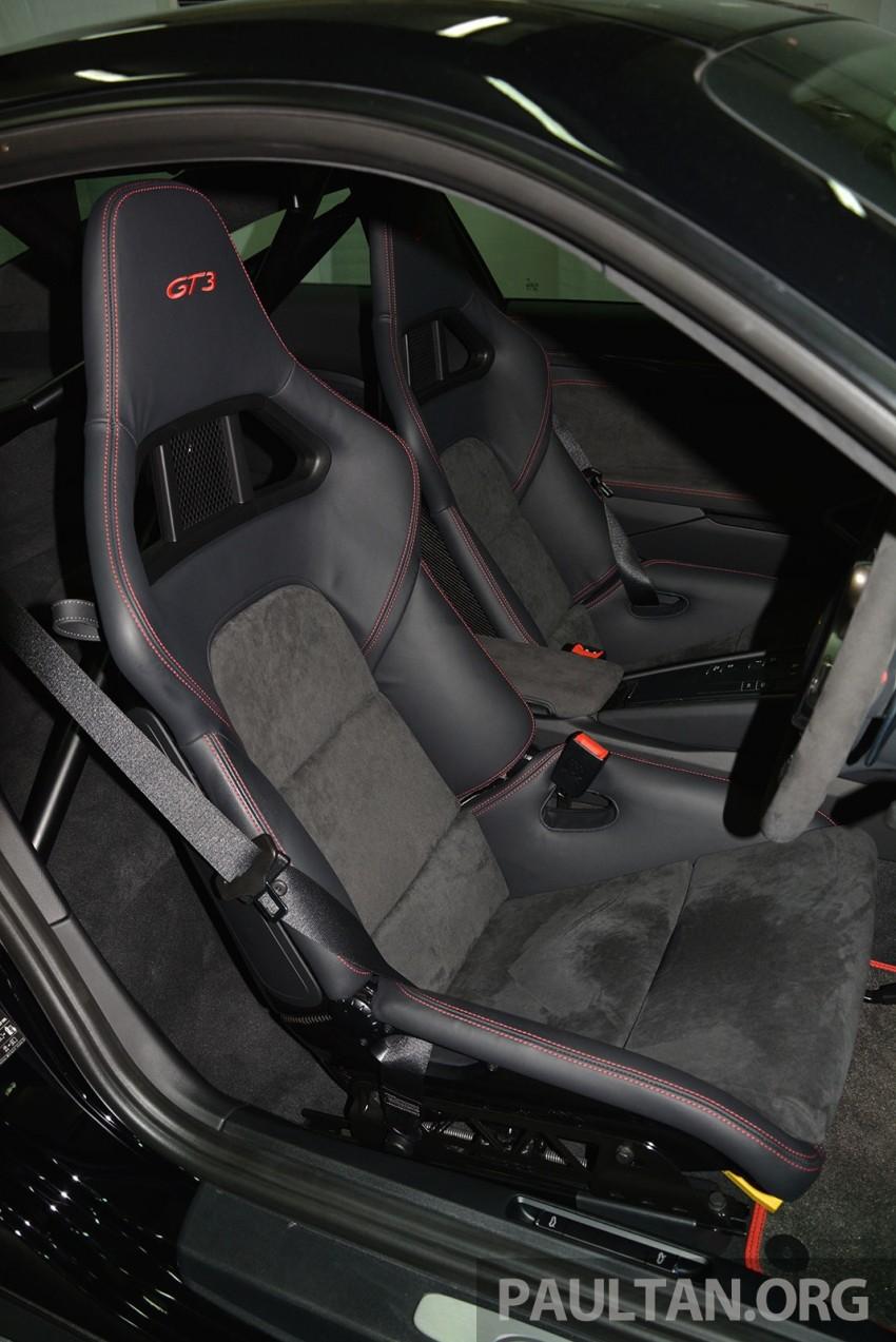 DRIVEN: Porsche 911 GT3 – no manual, no more fun? Image #301192