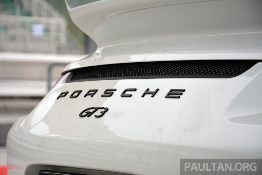 DRIVEN: Porsche 911 GT3 – no manual, no more fun? Image #301172