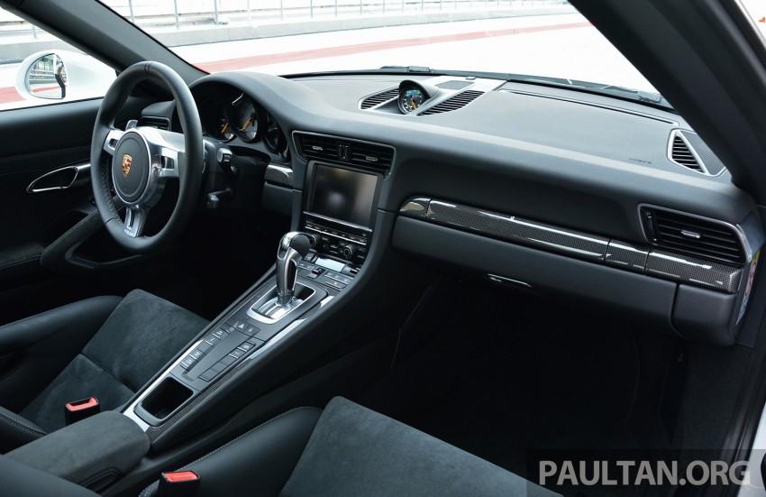 DRIVEN: Porsche 911 GT3 – no manual, no more fun? Image #301177