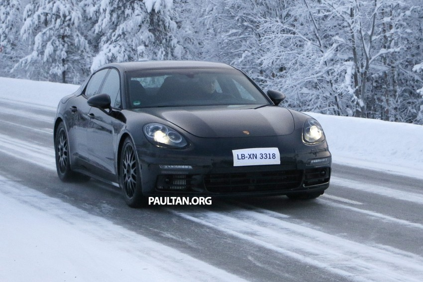 SPYSHOTS: Second-gen Porsche Panamera captured Image #306695