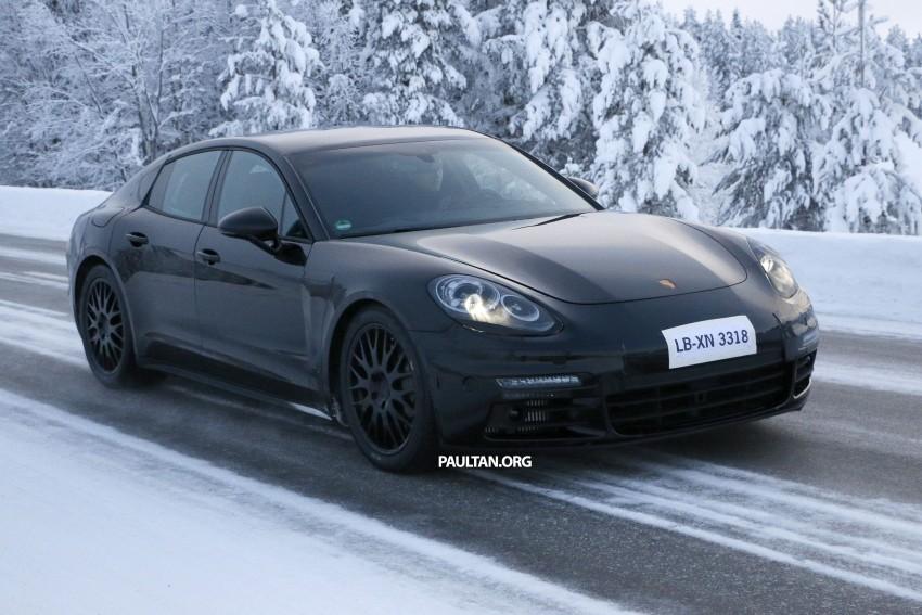 SPYSHOTS: Second-gen Porsche Panamera captured Image #306693