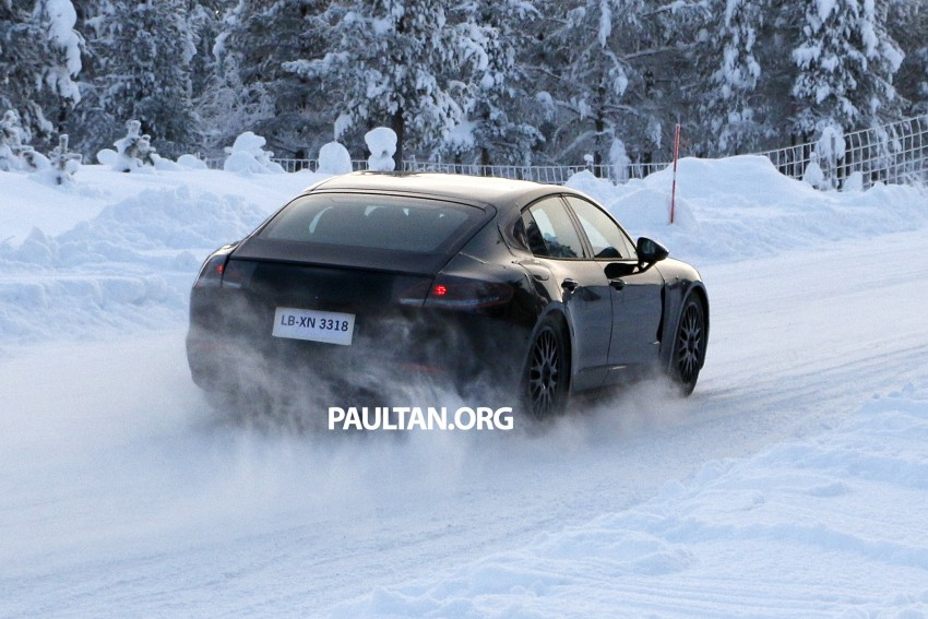 SPYSHOTS: Second-gen Porsche Panamera captured Image #306689