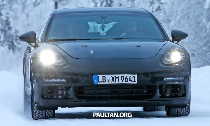 SPYSHOTS: Second-gen Porsche Panamera captured Image #306678