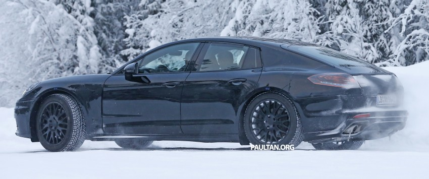 SPYSHOTS: Second-gen Porsche Panamera captured Image #306665