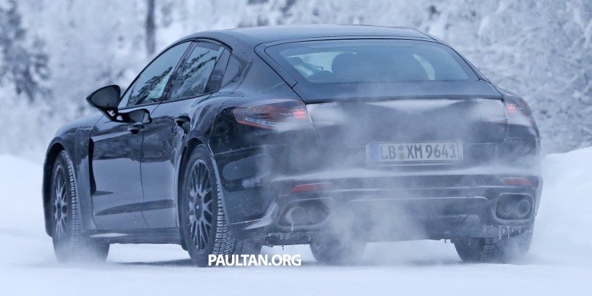 SPYSHOTS: Second-gen Porsche Panamera captured Image #306669