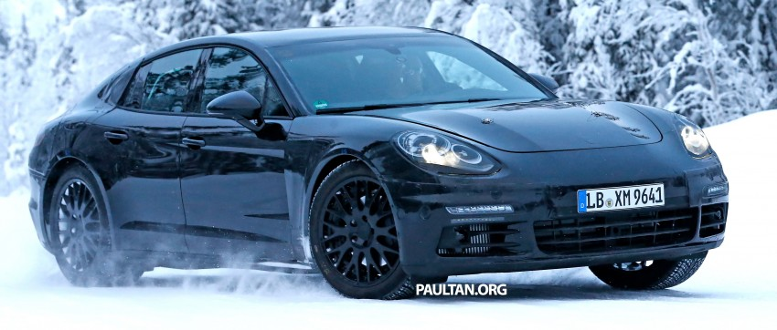 SPYSHOTS: Second-gen Porsche Panamera captured Image #306676