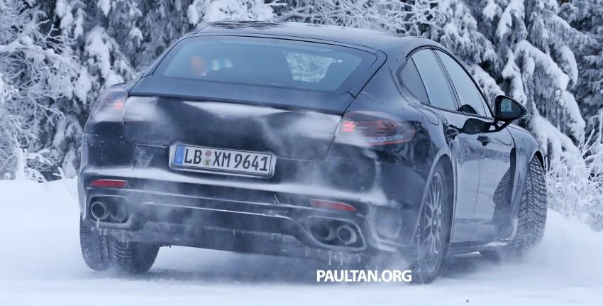 SPYSHOTS: Second-gen Porsche Panamera captured Image #306673
