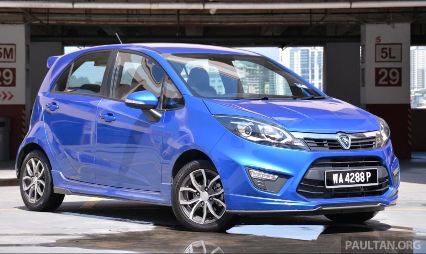GALLERY: 2015 Perodua Myvi facelift vs Proton Iriz Image #304732