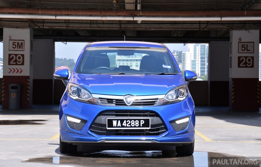 GALLERY: 2015 Perodua Myvi facelift vs Proton Iriz Image #304734