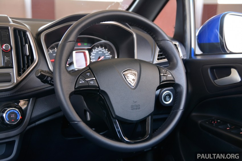 GALLERY: 2015 Perodua Myvi facelift vs Proton Iriz Image #304741