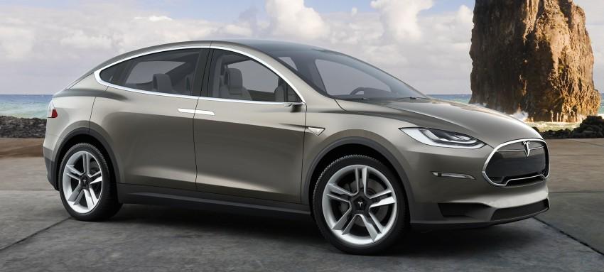 Tesla Model X seven-seat SUV – new details revealed Image #302838