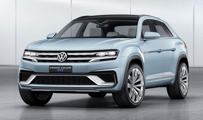 VW Cross Coupe GTE at Detroit – close to production Image #302120