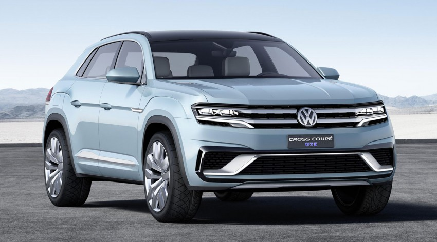 VW Cross Coupe GTE at Detroit – close to production Image #302121