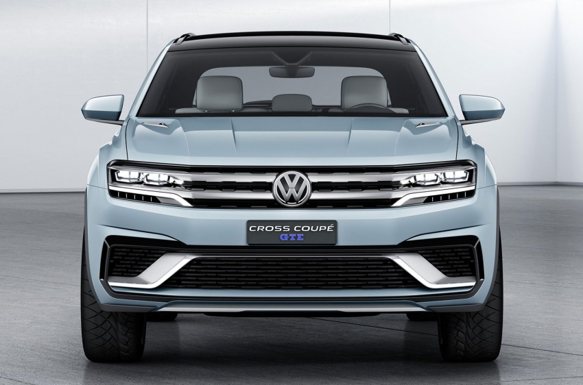 VW Cross Coupe GTE at Detroit – close to production Image #302122