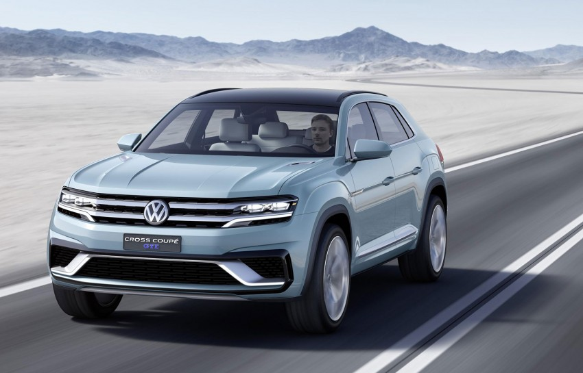 VW Cross Coupe GTE at Detroit – close to production Image #302123