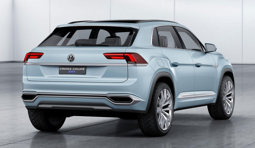 VW Cross Coupe GTE at Detroit – close to production Image #302125