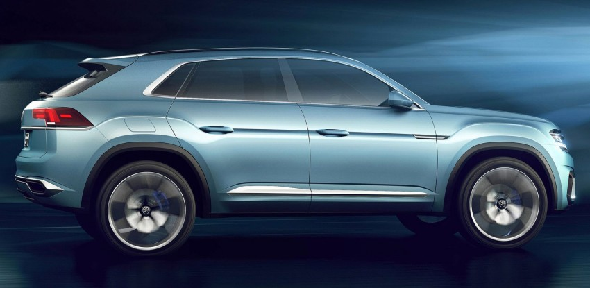 VW Cross Coupe GTE at Detroit – close to production Image #302280