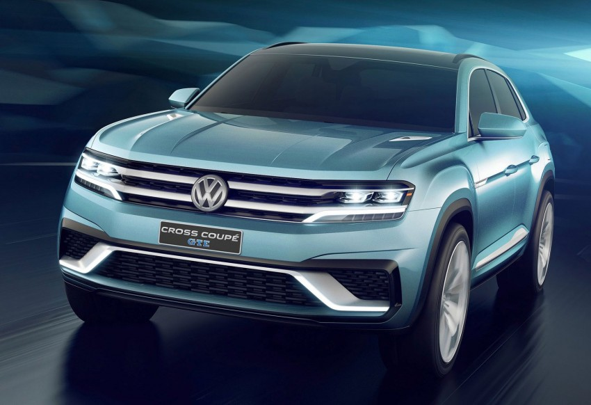 VW Cross Coupe GTE at Detroit – close to production Image #302282