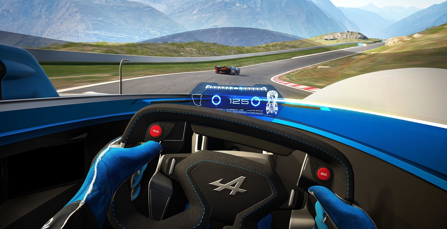 Alpine Vision Gran Turismo – more than game to go Paul Tan ...
