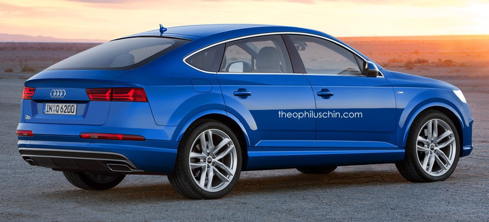 Audi Q 6 >> Audi Q6 rendered – X6, GLE Coupe rival considered Image 306795