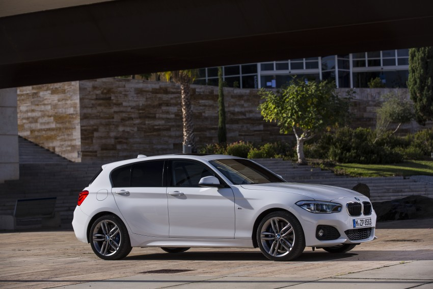 F20 Bmw 1 Series Facelift Unveiled New Face And Rear End