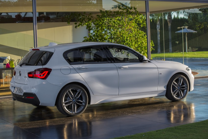 New Bmw 1 Series >> F20 BMW 1 Series facelift unveiled – new face and rear end, 116i and 116d get 1.5 litre three ...