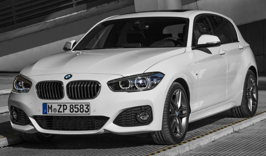 Bmw 1 Series F20 Lci Facelift M Sport 30 on new bmw engines