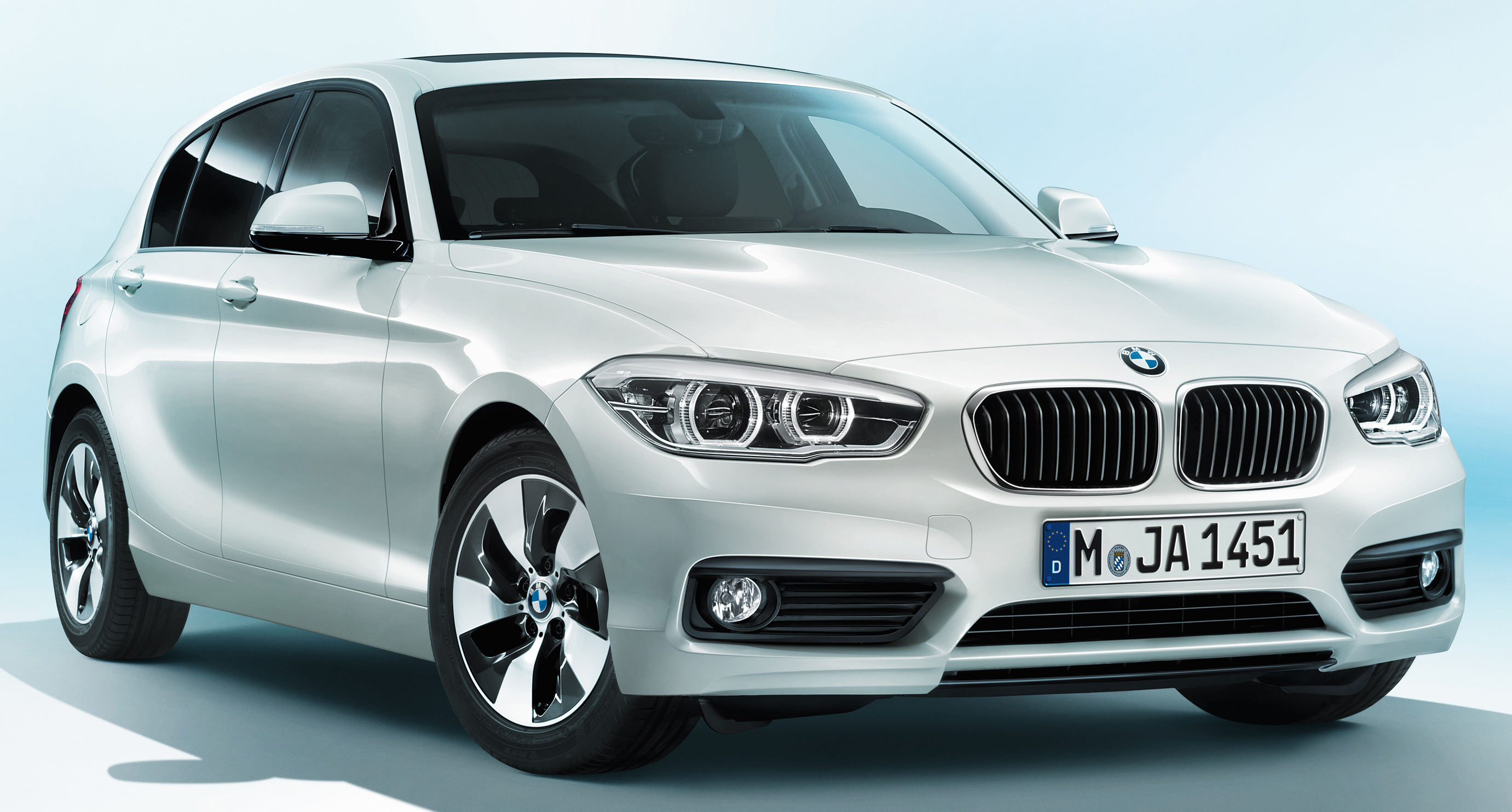 Bmw New Model >> F20 BMW 1 Series facelift unveiled – new face and rear end, 116i and 116d get 1.5 litre three ...