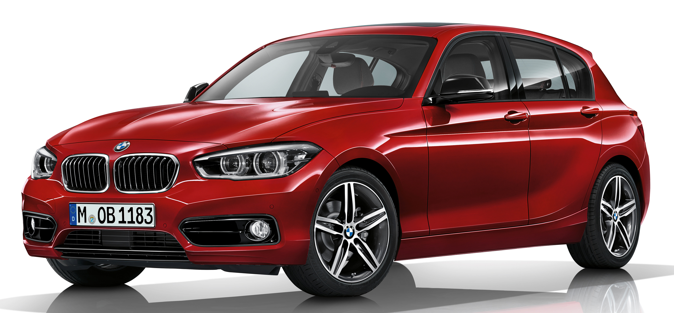 f20 bmw 1 series facelift unveiled new face and rear end. Black Bedroom Furniture Sets. Home Design Ideas