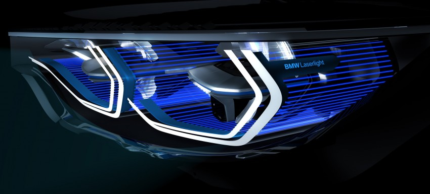 CES 2015: BMW M4 Concept Iconic Lights showcases laser and OLED technology for automotive lighting Image #300331