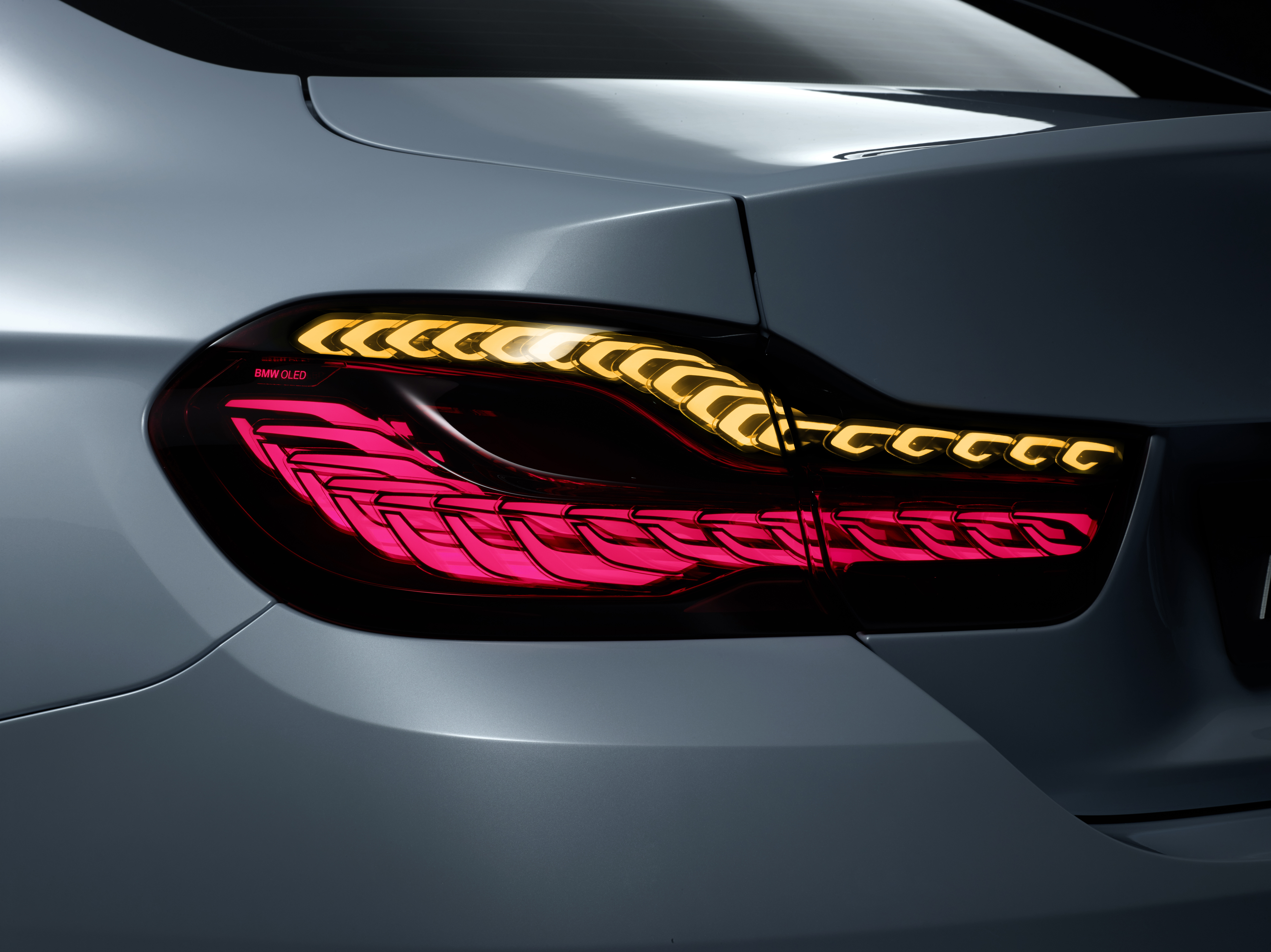 iconic lighting. CES 2015: BMW M4 Concept Iconic Lights Showcases Laser And OLED Technology For Automotive Lighting