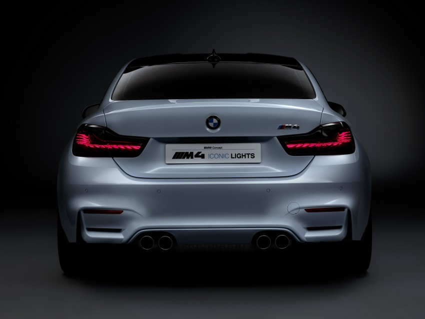 CES 2015: BMW M4 Concept Iconic Lights showcases laser and OLED technology for automotive lighting Image #300339