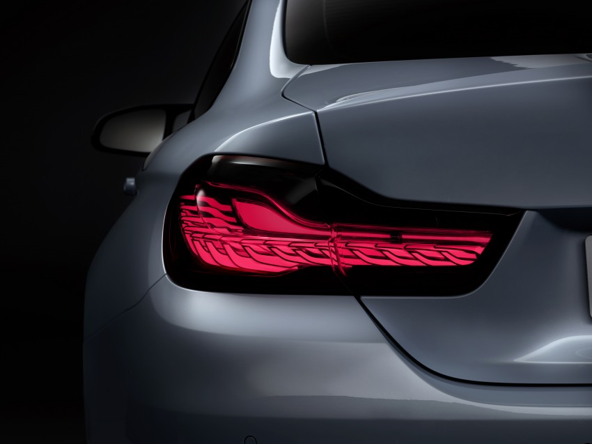 CES 2015: BMW M4 Concept Iconic Lights showcases laser and OLED technology for automotive lighting Image #300341