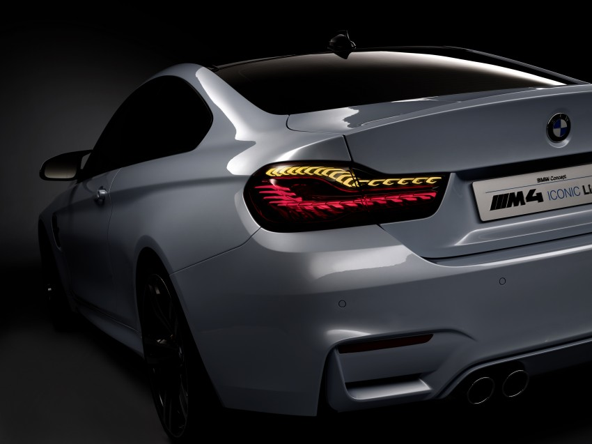 CES 2015: BMW M4 Concept Iconic Lights showcases laser and OLED technology for automotive lighting Image #300342