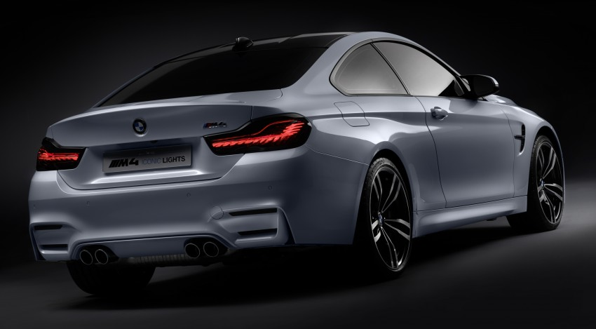CES 2015: BMW M4 Concept Iconic Lights showcases laser and OLED technology for automotive lighting Image #300343