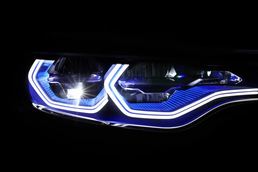 CES 2015: BMW M4 Concept Iconic Lights showcases laser and OLED technology for automotive lighting Image #300345
