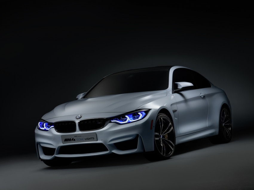 CES 2015: BMW M4 Concept Iconic Lights showcases laser and OLED technology for automotive lighting Image #300355