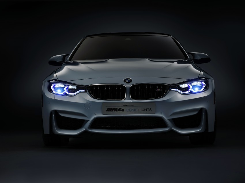 CES 2015: BMW M4 Concept Iconic Lights showcases laser and OLED technology for automotive lighting Image #300357