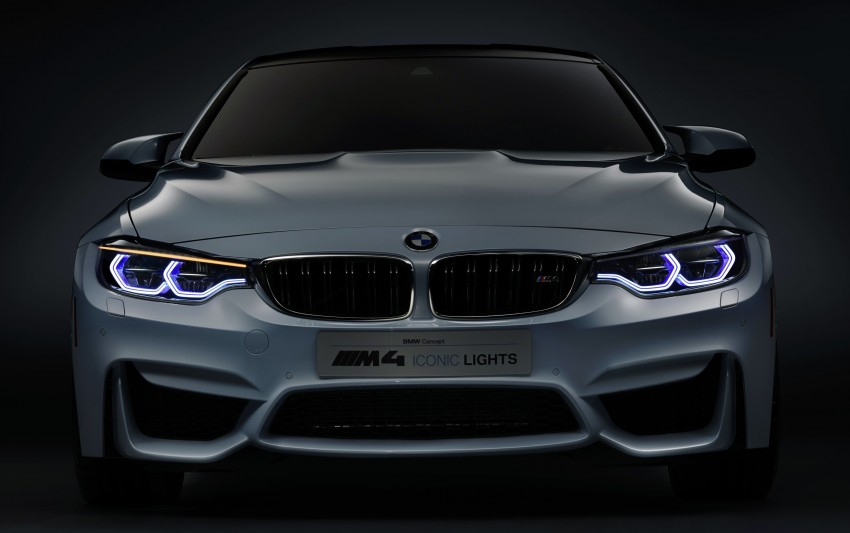 CES 2015: BMW M4 Concept Iconic Lights showcases laser and OLED technology for automotive lighting Image #300359